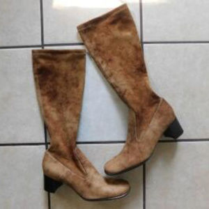 Franco Sarto Suede Knee High Boots NWOT